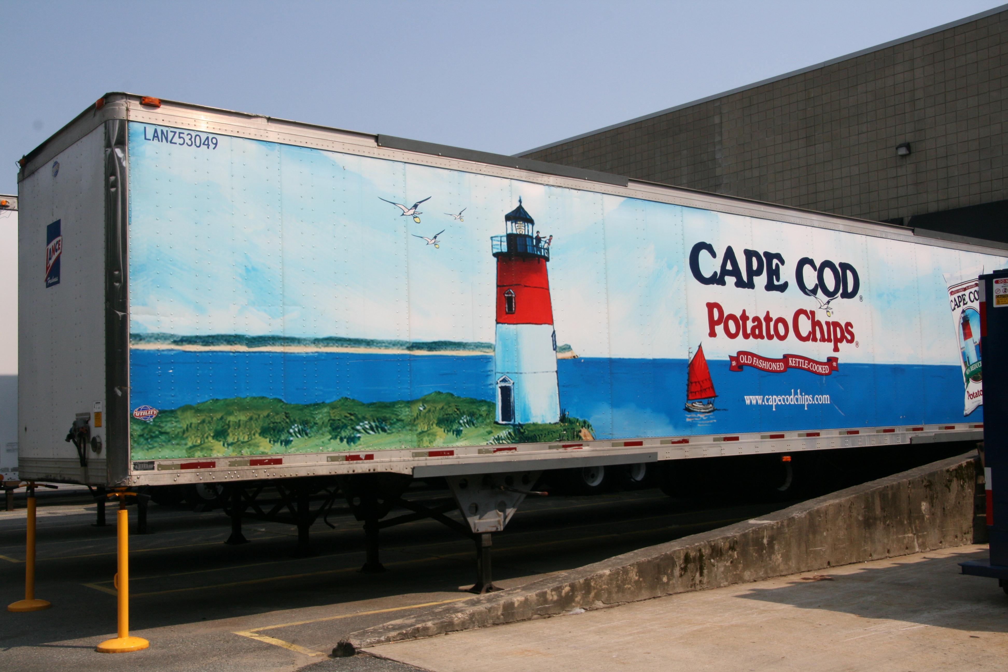 Cape Cod Chips Logo Part - 45: Trip ...