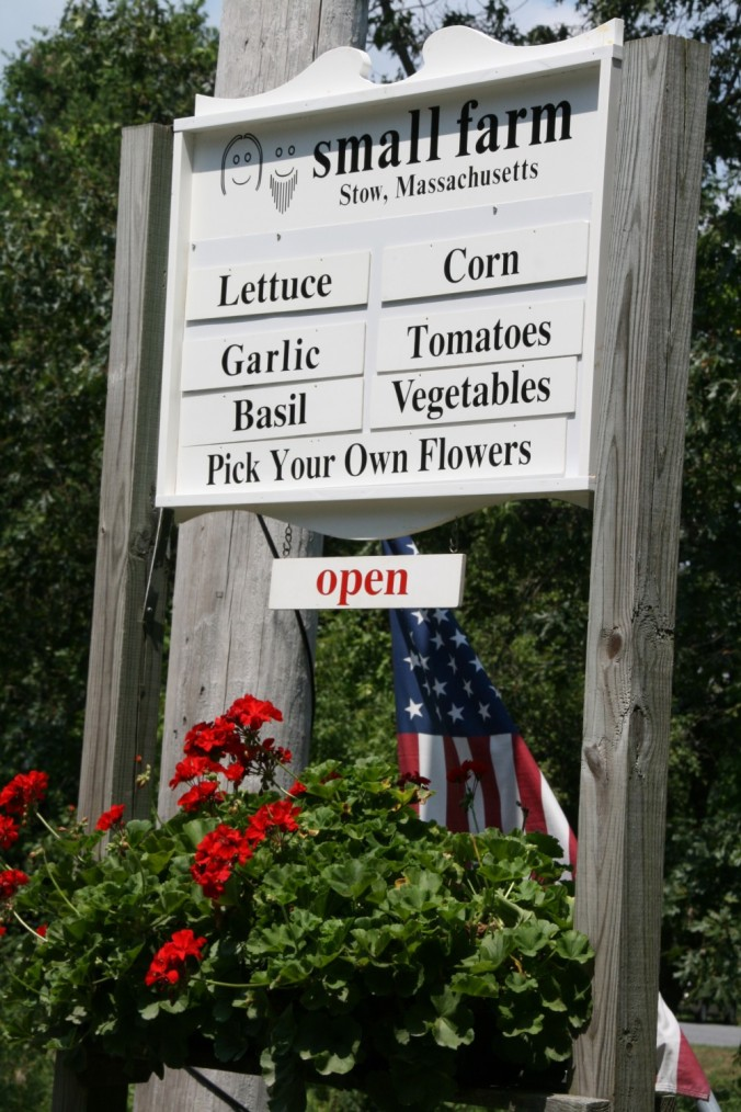 Small Farm Sign