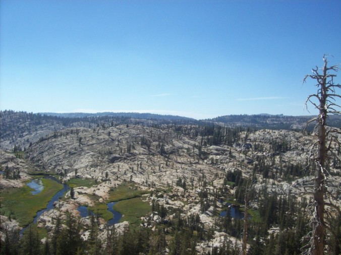 Emigrant Wilderness, near Yosemite National Park, California.