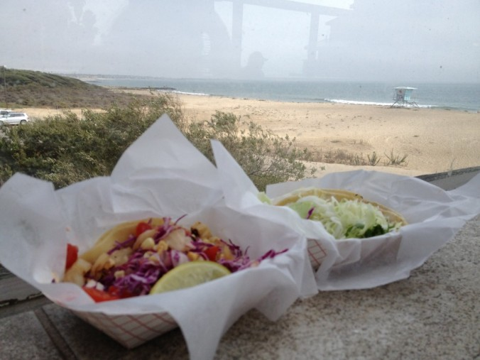Tacos at the Beach House