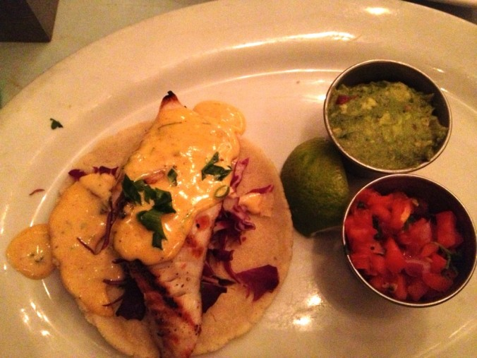 Blue Plate Oysterette Fish Tacos