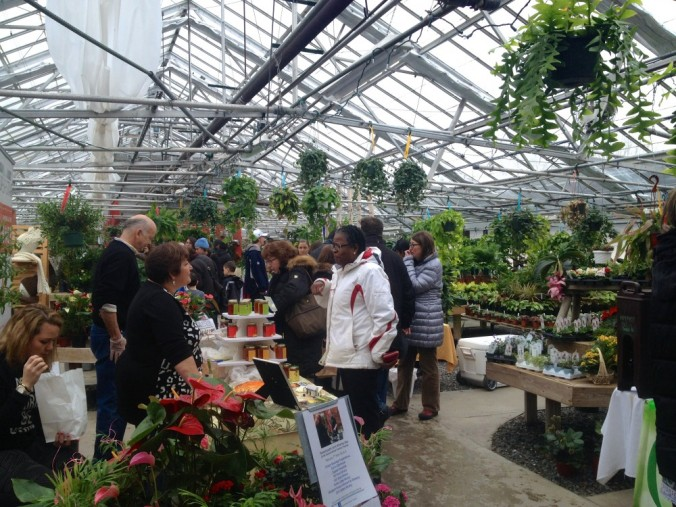 Wayland Farmers' Market Inside